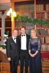 Robert Kerley with Bríd de Brún and Michael Gleeson