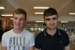 10. Robert Lewis and David Connolly with happy smiles